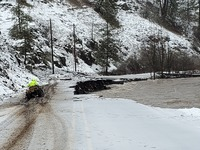 Bingham Road area Photo from Umatilla Co. Search and Rescue