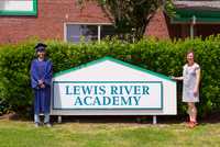 Caleb Osorio is the first student to have attended the Lewis River Academy program since Kindergarten and will be moving on to Woodland High School this fall.