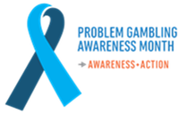 Problem Gambling Awareness Month logo