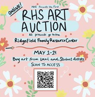 Flyer for the Unclaimed Art Auction